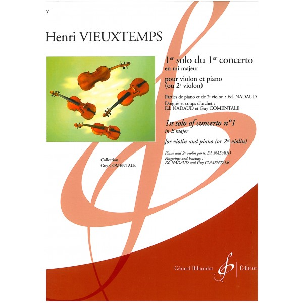 Vieuxtemps, Henri - 1st solo of Concerto no. 1 in E major