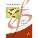 Wieniawski, Henryk - 1st movement of Concerto No. 2 in D minor.