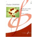 Chaynes, Charles - Studies for violin, Volume 3, 10 caprices