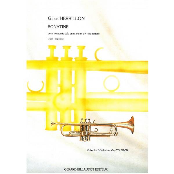 Herbillon, Gilles - Sonatine pour trompette solo