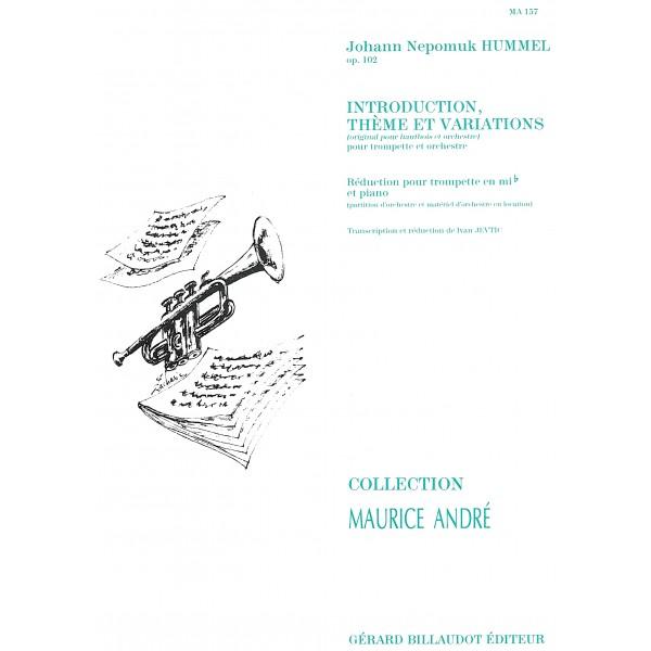 Hummel, J N - Introduction, Theme & Variations