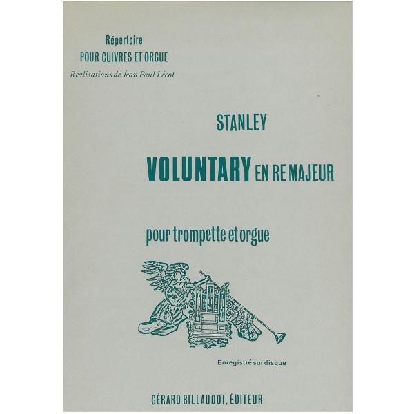 Stanley, John - Voluntary in D major