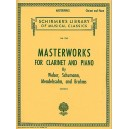 Masterworks For Clarinet And Piano - 0