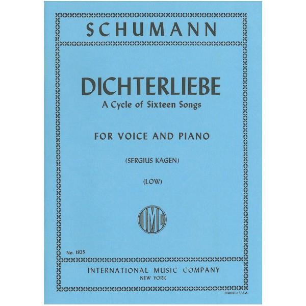 Schumann, Robert - Dichterliebe op. 48 (Low)