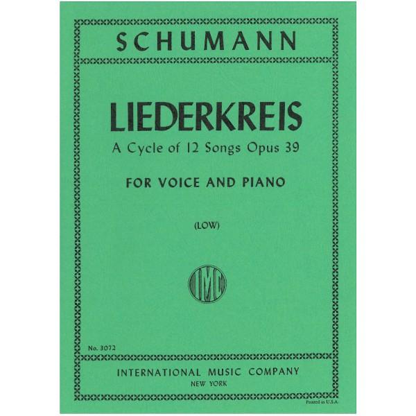 Schumann, Robert - Liederkreis Op39 (low)