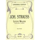 Strauss, Johann - Last Waltzs
