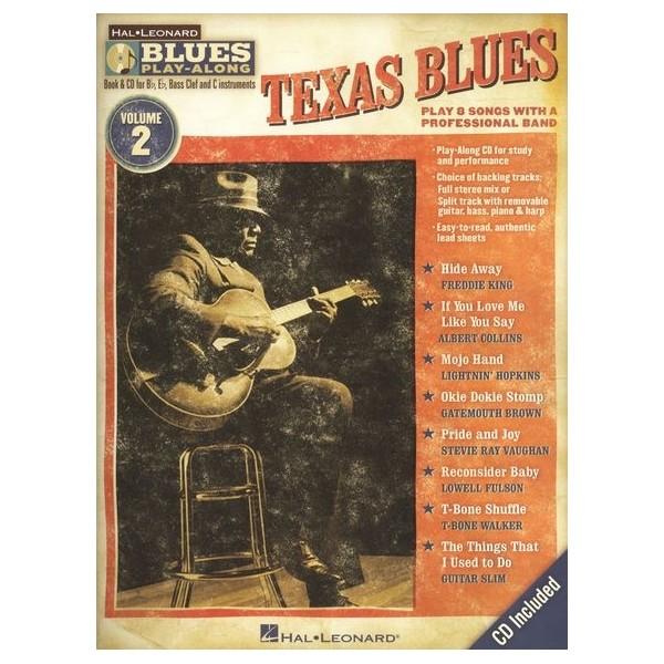 Blues Play-Along Volume 2: Texas Blues