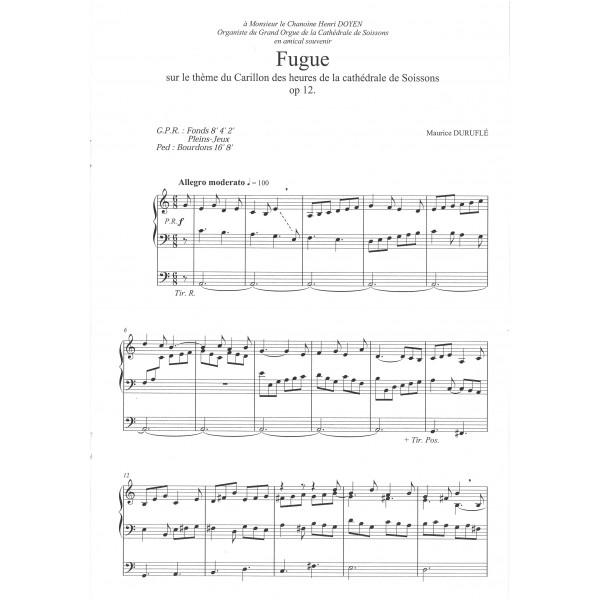 Durufle, Maurice - Fugue Op. 12 (Organ)