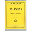 Chausson: 20 Songs (High)