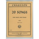 Chausson: 20 Songs (Low)