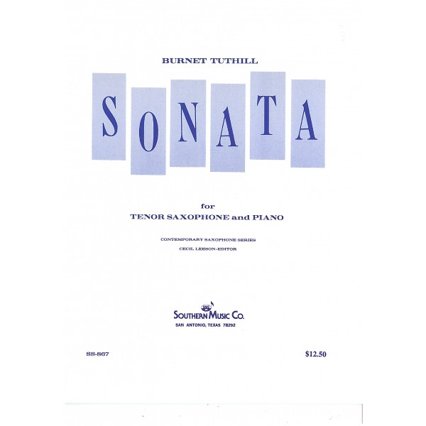 Tuthill, Burnet - Sonata