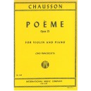 Chausson, Ernest - Poeme, op 25