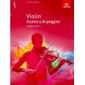 ABRSM Violin Scales and Arpeggios - Grade 1 (One)