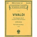 Antonio Vivaldi: Spring From Four Seasons Op.8 (Violin/Piano) - Vivaldi, Antonio (Artist)