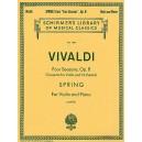 Antonio Vivaldi: Spring From Four Seasons Op.8 (Violin/Piano) - Vivaldi, Antonio (Artist)