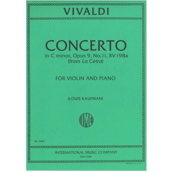 Vivaldi Concerto in C minor Op. 9 No. 11 RV198a