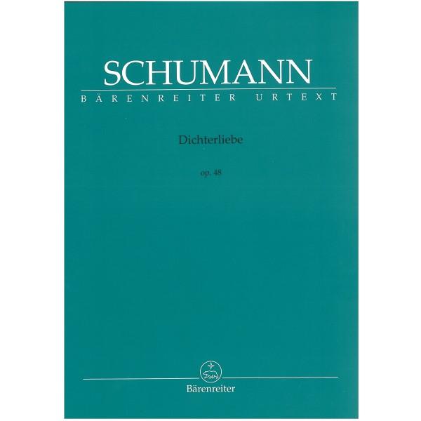 Schumann, Robert - Dichterliebe op. 48 Urtext