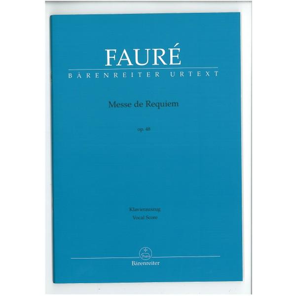 Faure, Gabriel - Requiem (vocal score)