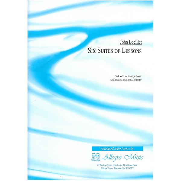 Loeillet, John - Six Suites of Lessons.