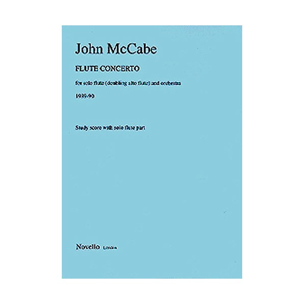 John McCabe: Flute Concerto - McCabe, John (Artist)