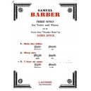 Barber, Samuel - I Hear An Army Op.10 No.3 (High Voice) - Barber, Samuel (Artist)