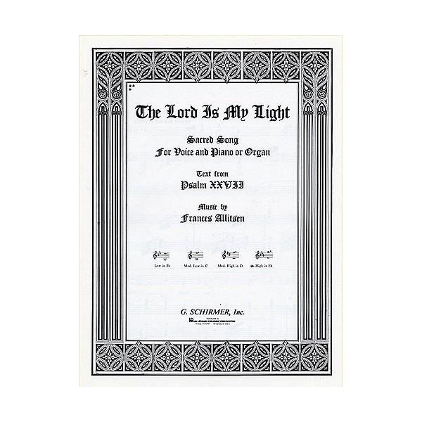 Frances Allitsen: The Lord Is My Light (High Voice/Piano) - Allitsen, Frances (Artist)