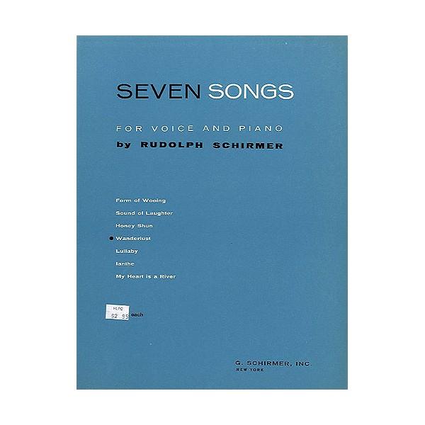 Rudolph Schirmer: Wanderlust (From Seven Songs For Voice And Piano) - Schirmer, Rudolph (Artist)