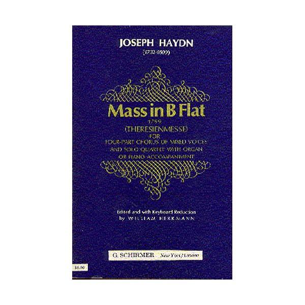 Joseph Haydn: Mass In B Flat (Theresienmesse)- Vocal Score - Haydn, Franz Joseph (Artist)
