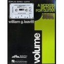 A Modern Method For Guitar: Volume 1 (Book/Cassette) - Leavitt, William (Author)