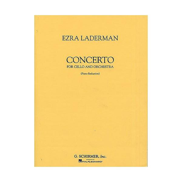 Ezra Laderman: Concerto For Cello And Orchestra (Cello/Piano) - Laderman, Ezra (Artist)