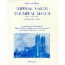 Edward Elgar: Imperial March And Triumphal March For Organ - Elgar, Edward (Artist)