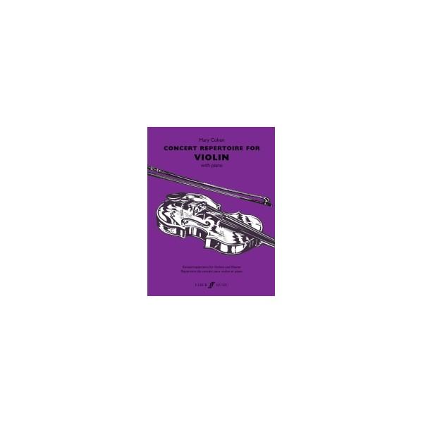 Concert Repertoire for Violin & Piano (Cohen)