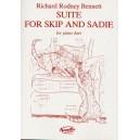 Richard Rodney Bennett: Suite For Skip And Sadie For Piano Duet - Bennett, Richard Rodney (Artist)