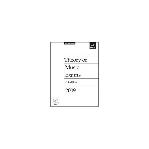 Theory of Music Exams Grade 4 2009
