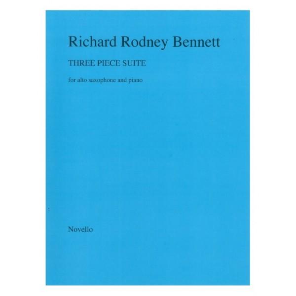 Bennett, Richard Rodney - Three Piece Suite (Alto Saxophone & Piano)
