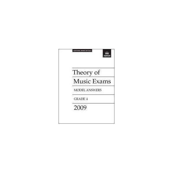 Theory of Music Exams Model Answers Grade 4 2009