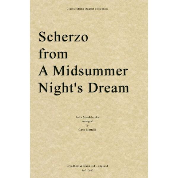 Mendelssohn - Scherzo from A Midsummer Night's Dream