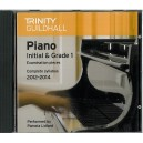 Trinity Guildhall Piano 2012-2014 Initial & Grade 1