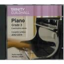 Trinity Guildhall Piano 2012-2014 Grade 3