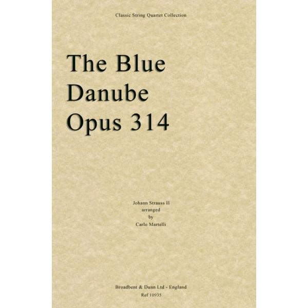 Strauss II - The Blue Danube, Opus 314