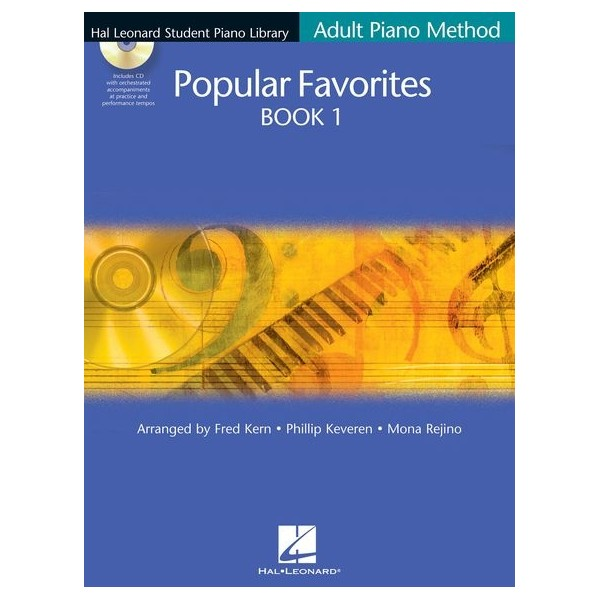 Hal Leonard Student Piano Library Adult Piano Method: Popular Favorites Book 1