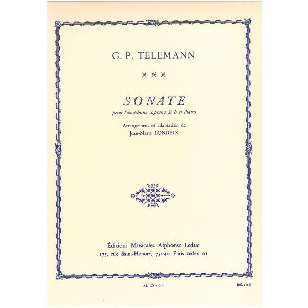 Telemann, G. P. - Sonate