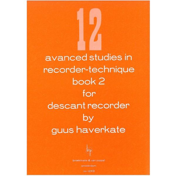 Haverkate, Guus - 12 Advanced Studies in Recorder technique