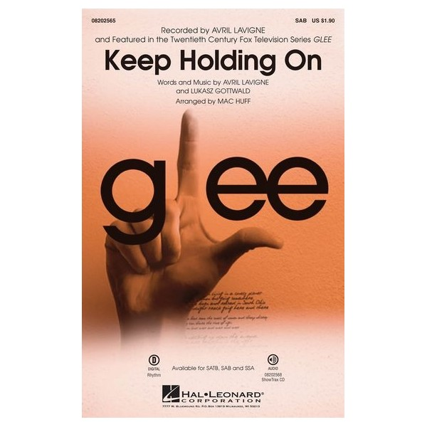 Avril Lavigne: Keep Holding On (Glee)