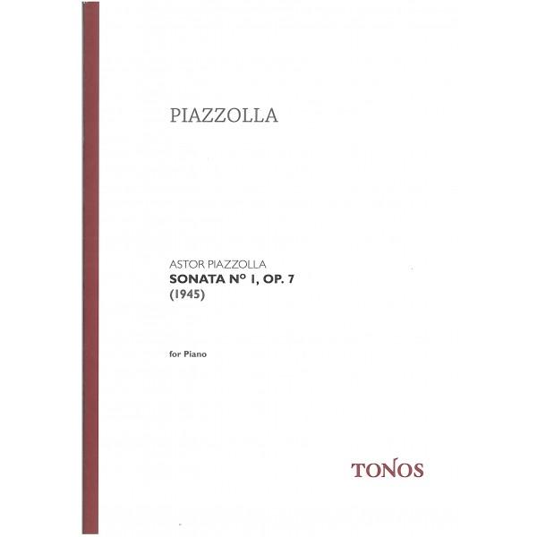 Piazzolla, Astor - Sonata No. 1 Op. 7