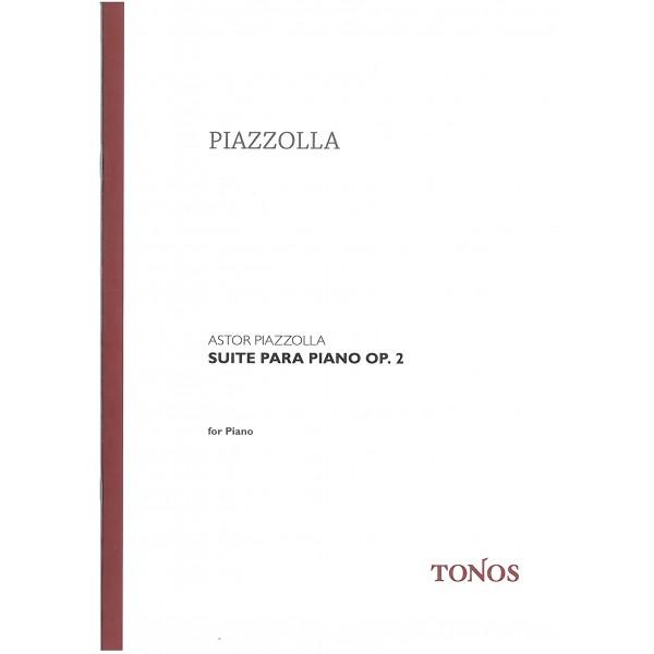 Piazzolla, Astor - Suite Para Piano Op. 2