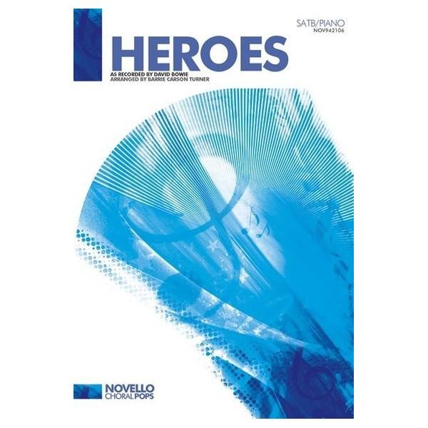 David Bowie: Heroes - SATB/Piano
