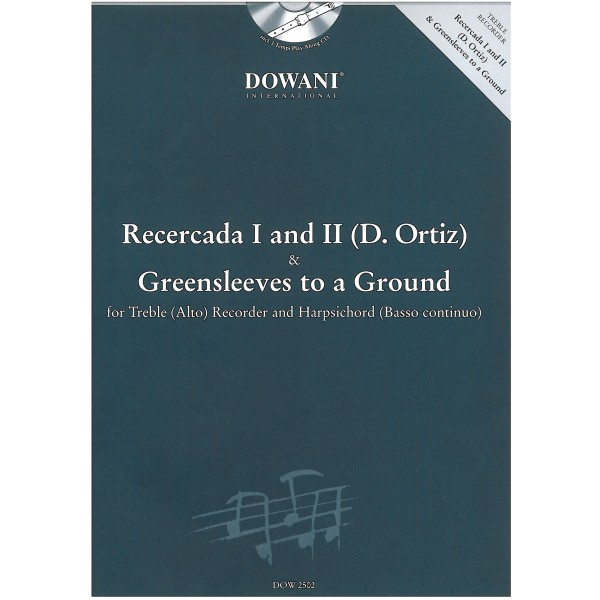 Ortiz, D. - Recercada I and II & Greensleeves to a Ground.