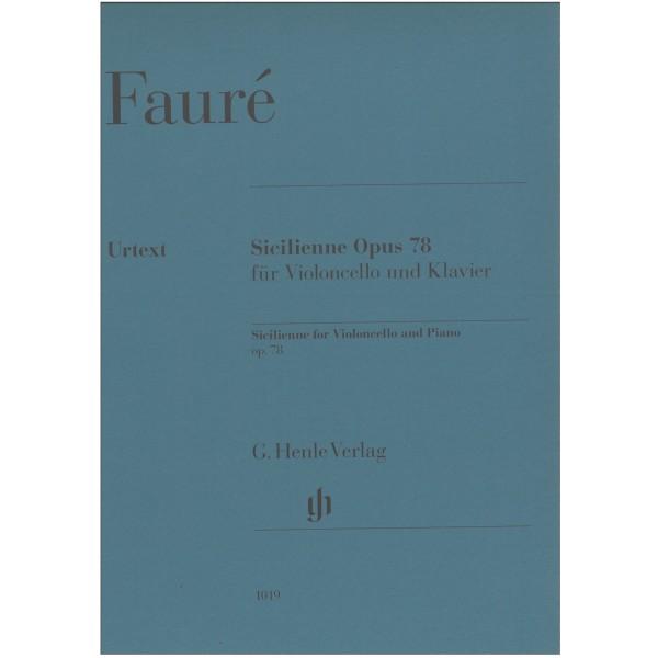 Faure, Gabriel - Sicilienne, Op. 78