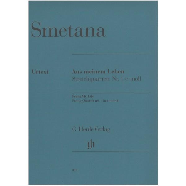 Smetana, Bedrich - String Quartet No. 1 in E minor